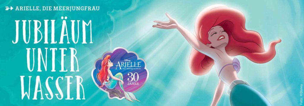 Arielle, Jubiläum unter Wasser
