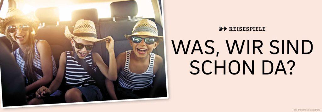 Kinder im Auto, Was wir sind schon da?
