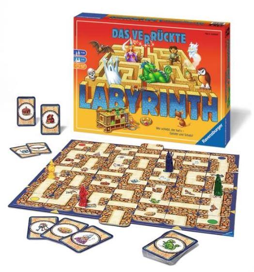 Brettspiel das verrückte Labyrinth