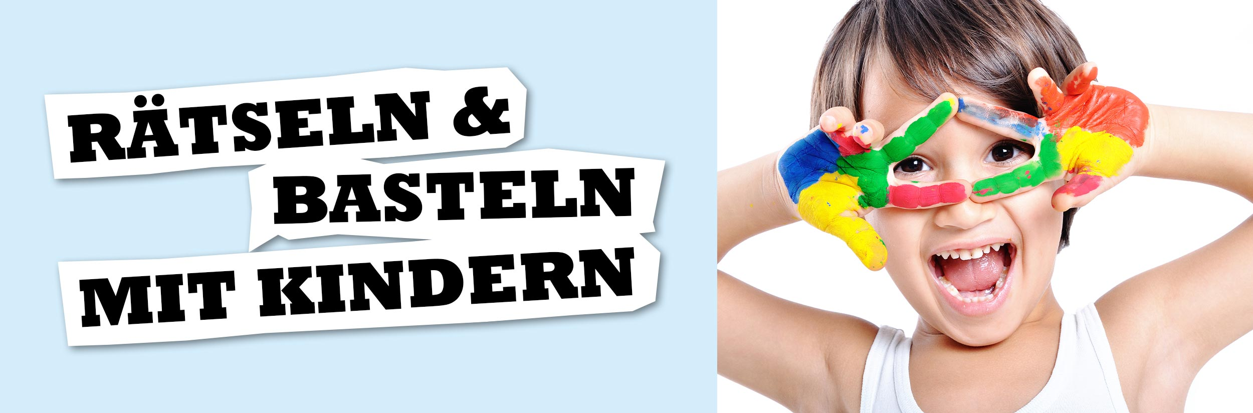 Kinderrätsel & Basteln