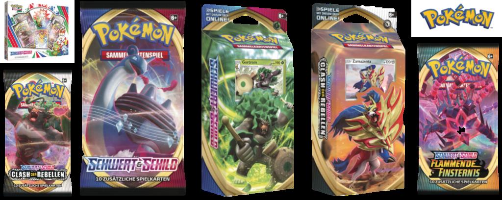 Pokemon Produkte bei VEDES